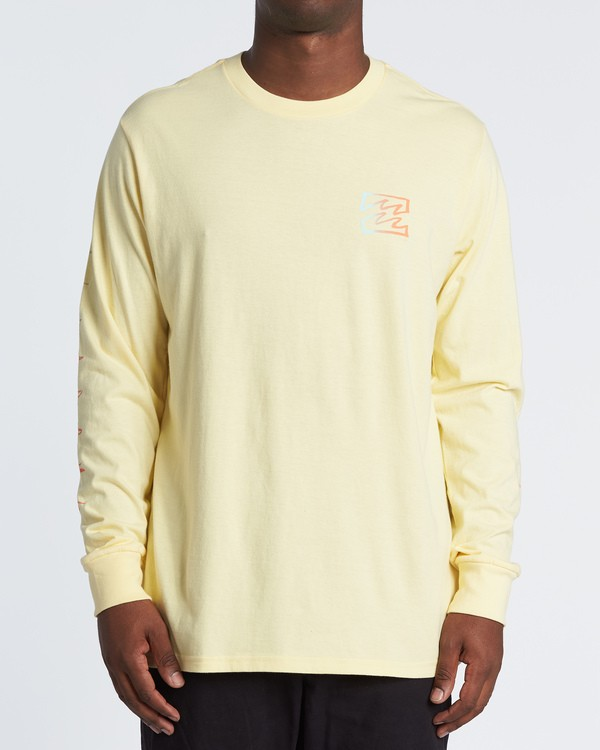 0 Oscura Long Sleeve T-Shirt Yellow M4051BOS Billabong