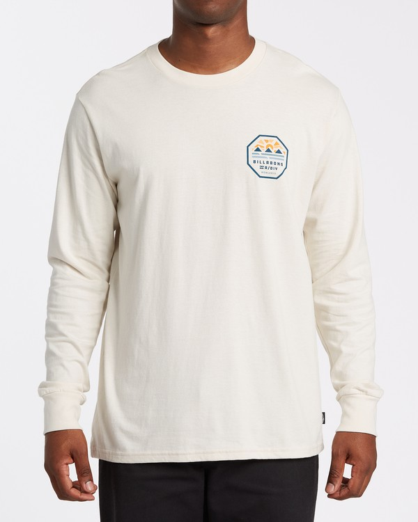 0 Polygon Long Sleeve T-Shirt Brown M4052BPO Billabong