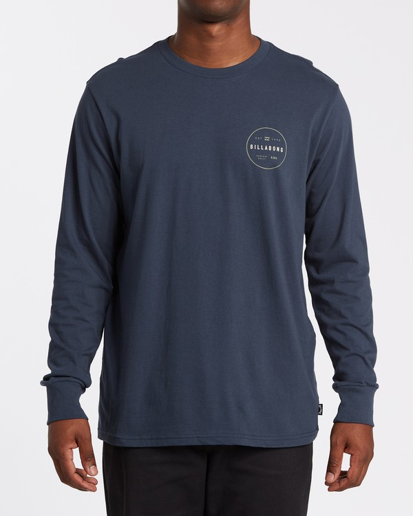 0 Rotor Adiv Long Sleeve T-Shirt Blue M4052BRA Billabong