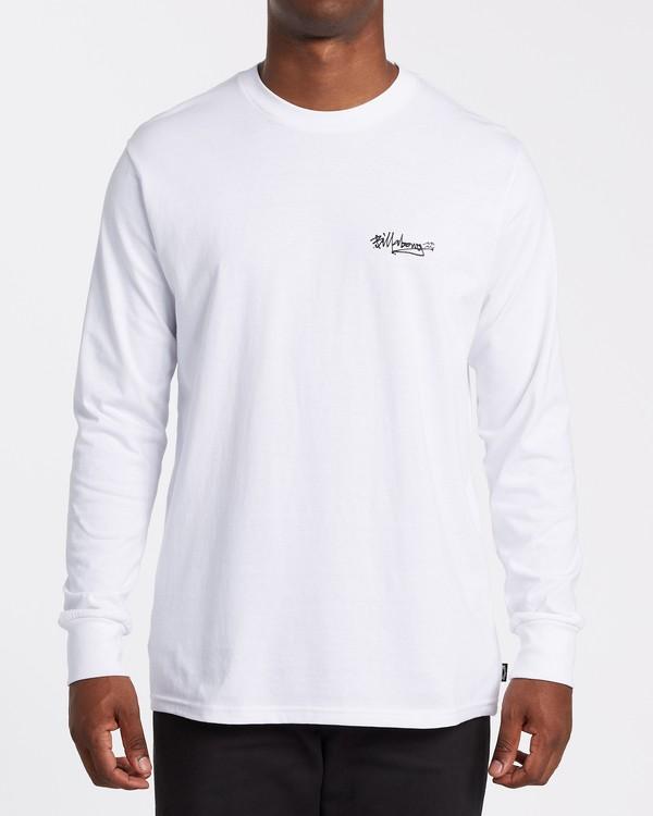 0 Tag Long Sleeve T-Shirt White M4052BTA Billabong