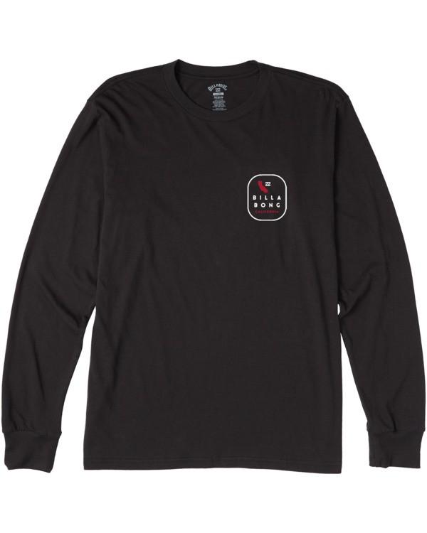 0 California Tour Long Sleeve T-Shirt Black M4053BCR Billabong