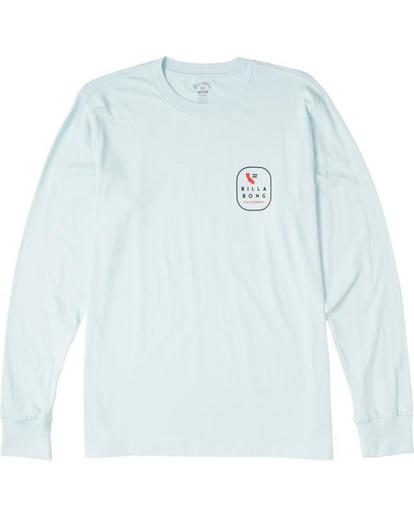 0 California Tour Long Sleeve T-Shirt Blue M4053BCR Billabong