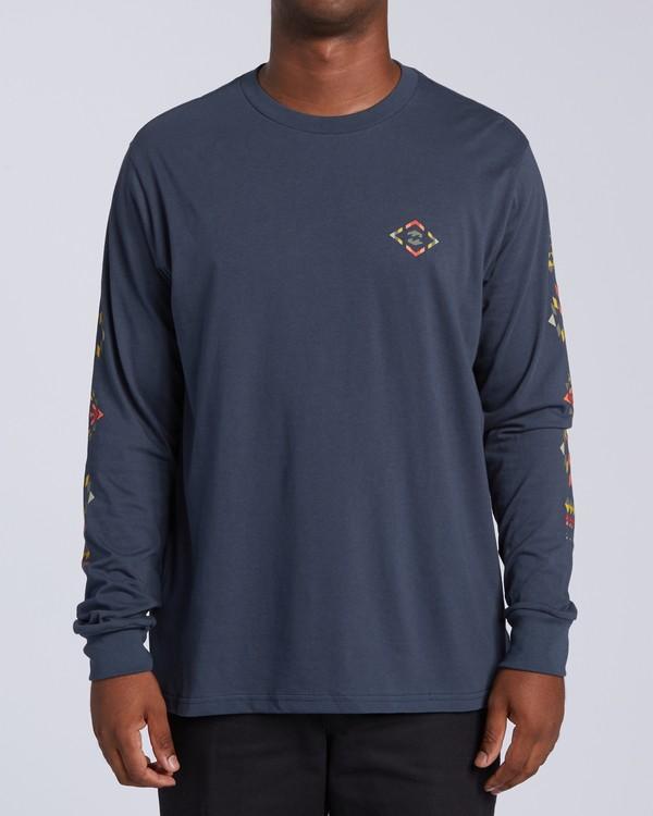 0 Dbah Long Sleeve T-Shirt Blue M4053BDB Billabong