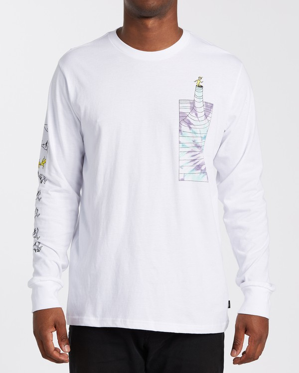 0 Great Places Long Sleeve T-Shirt White M4053BGP Billabong