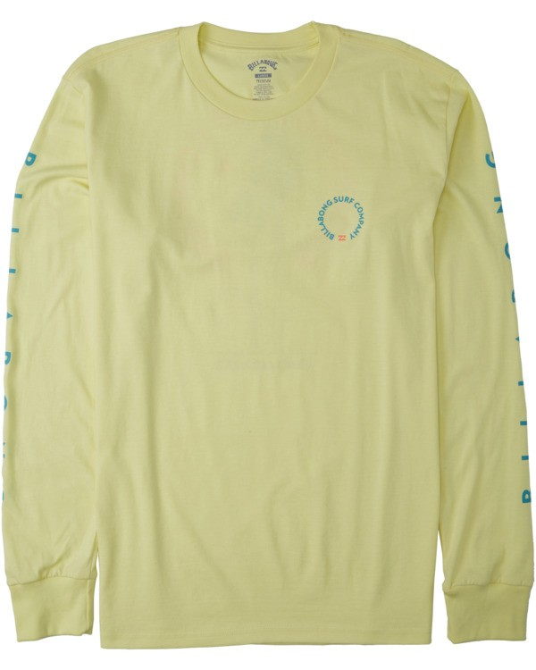 0 Los Angeles Long Sleeve T-Shirt Yellow M4053BLA Billabong