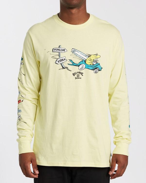 0 Little Car Long Sleeve T-Shirt Yellow M4053BLC Billabong