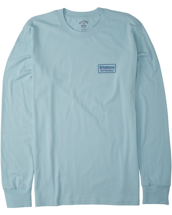 0 Walled Long Sleeve T-Shirt Blue M4053BWA Billabong
