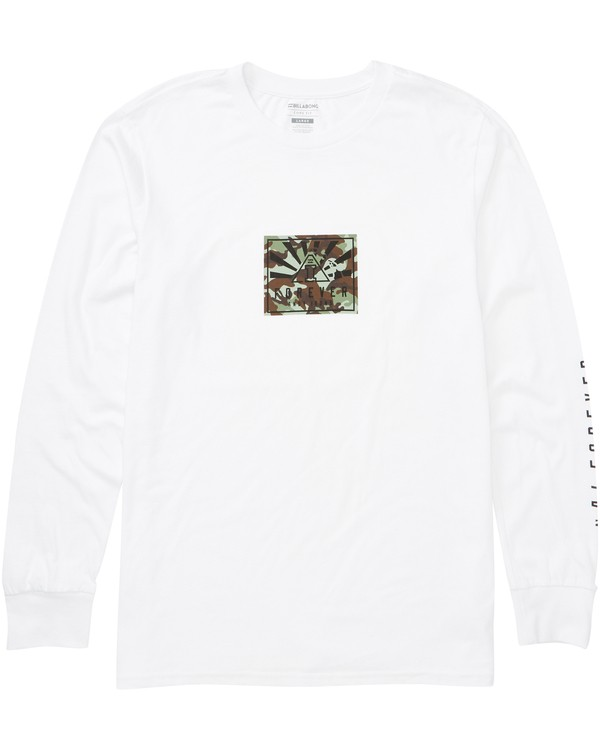 0 Ai Forever Long Sleeve Tee White M405PAIF Billabong