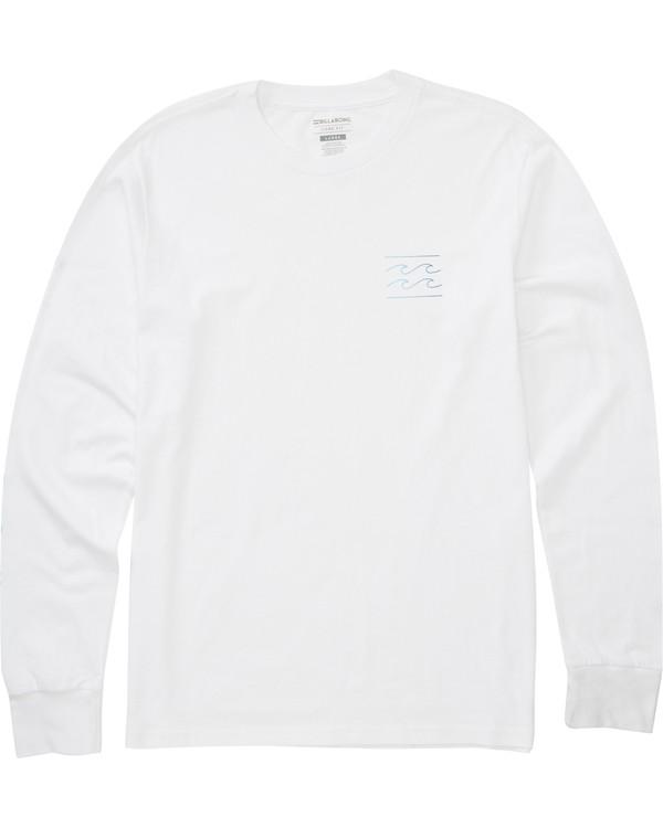 0 Unity Sleeves Long Sleeve T-Shirt White M405PBUS Billabong