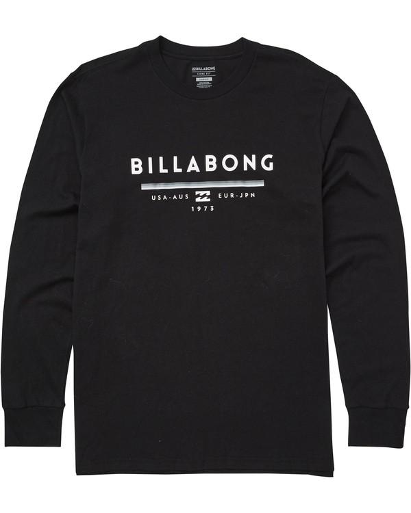 0 Unity Long Sleeve T-Shirt  M405QBUN Billabong