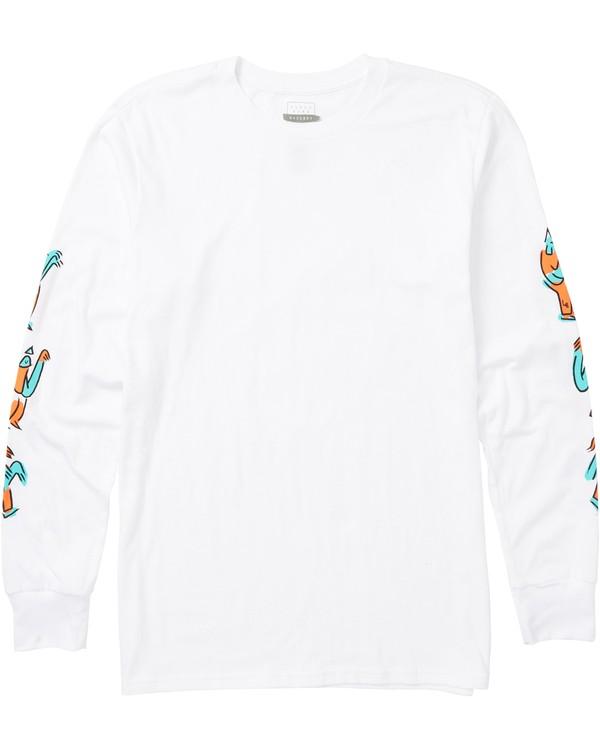 0 Brutus Long Sleeve T-Shirt  M405SBBR Billabong