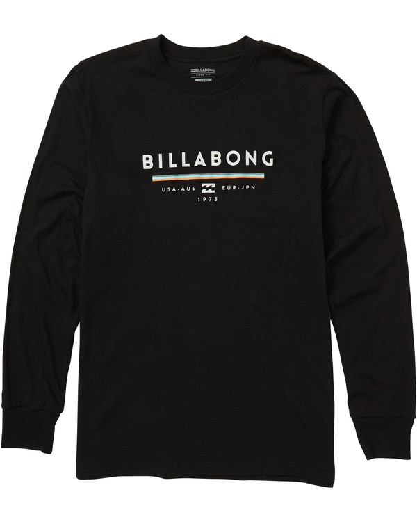 0 Unity Long Sleeve Graphic Tee Shirt  M405SBUN Billabong