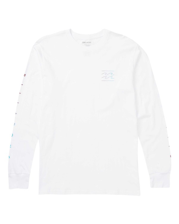 0 Unity Sleeves Long Sleeve Graphic T-Shirt White M405SBUS Billabong