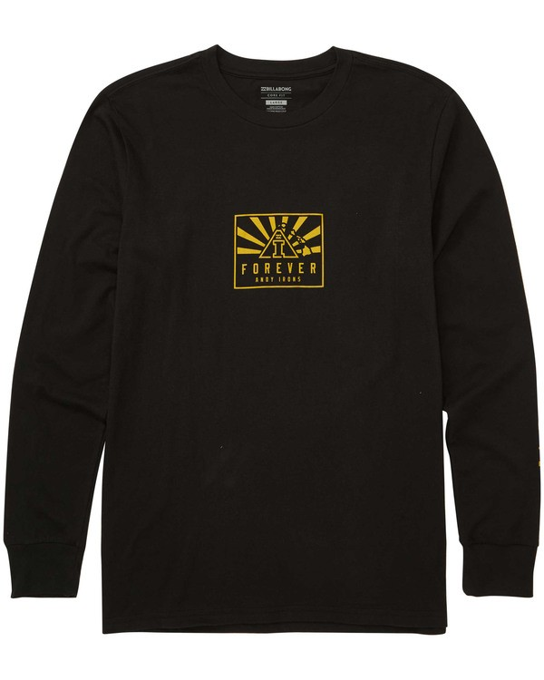 0 Forever Long Sleeve T-Shirt Black M405TBFO Billabong