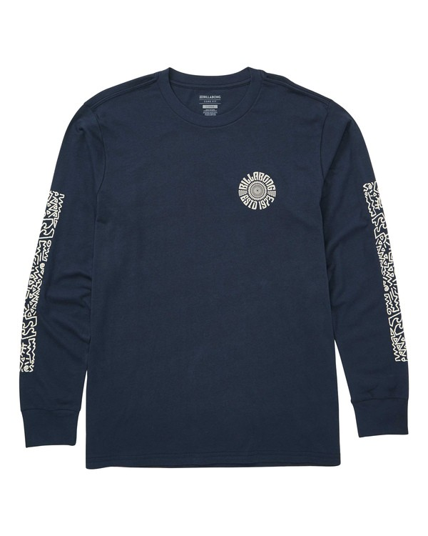 0 Hiero Long Sleeve T-Shirt  M405TBHI Billabong
