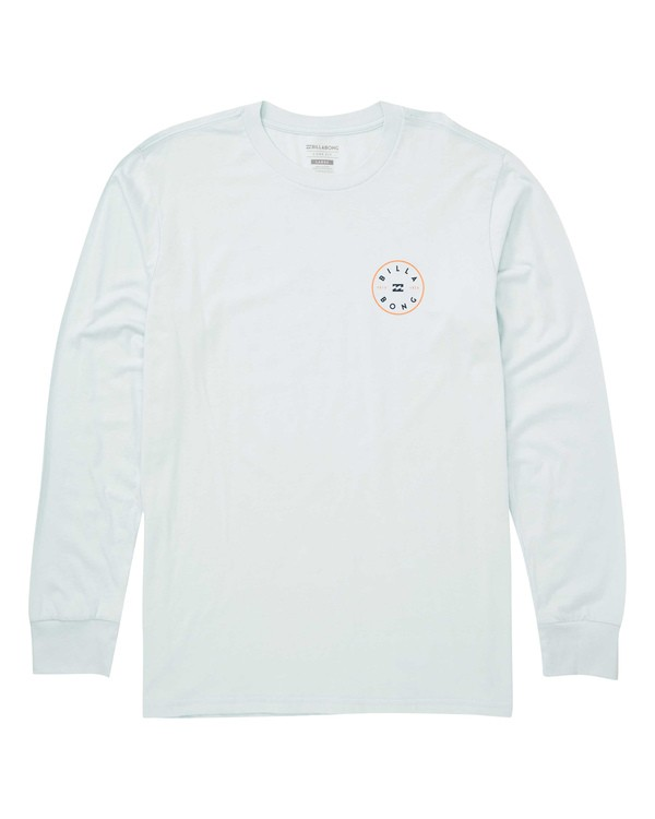 0 Rotor Long Sleeve T-Shirt Blue M405TBRH Billabong