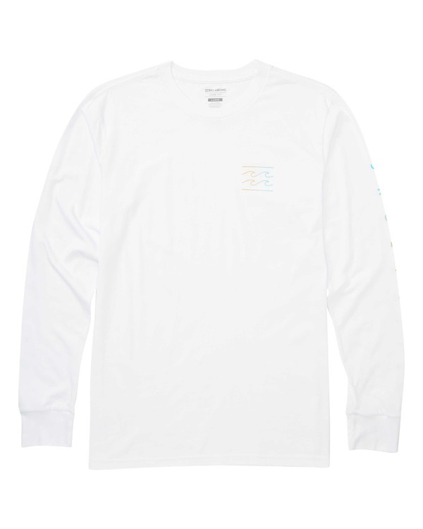 0 Unity Sleeves Long Sleeve T-Shirt White M405TBUS Billabong