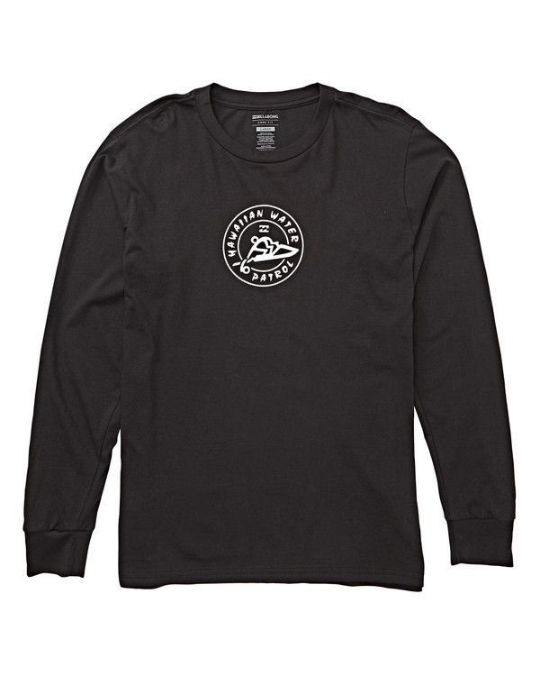 0 HWP Badge Long Sleeve T-Shirt  M405THPB Billabong