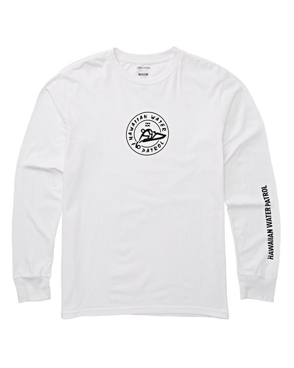 0 HWP Badge Long Sleeve T-Shirt White M405THPB Billabong