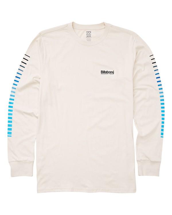 0 Atlantic Long Sleeve T-Shirt White M405UBAT Billabong