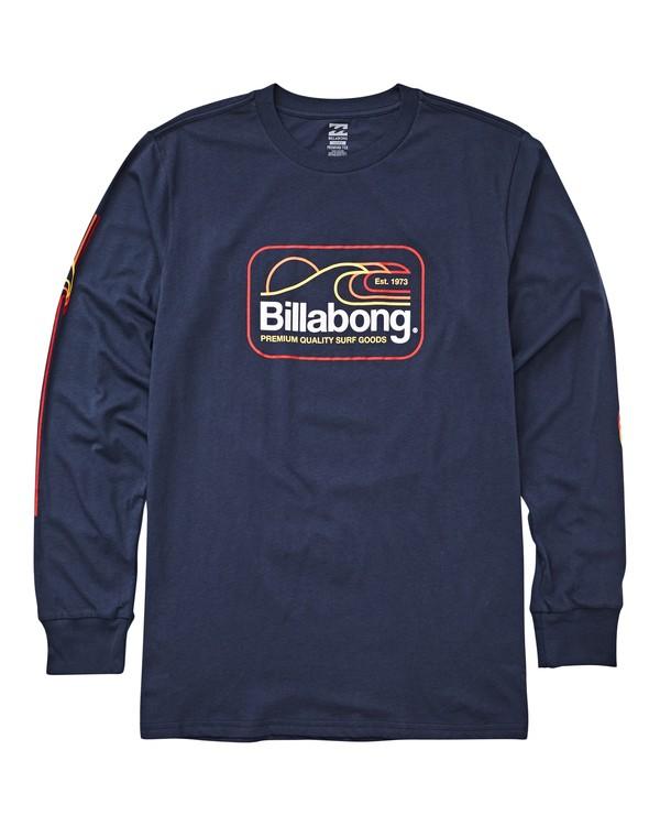 0 Dive Long Sleeve T-Shirt Blue M405UBDI Billabong
