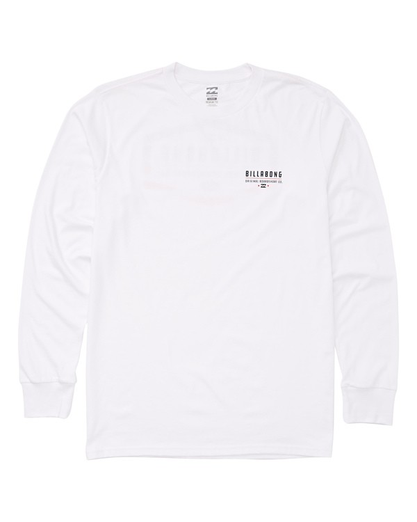 0 Maker Long Sleeve Tee White M405UBMA Billabong