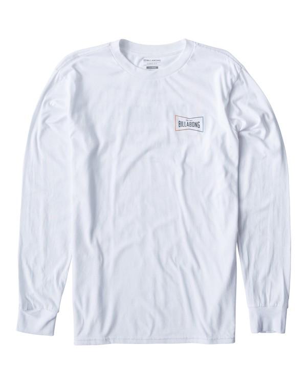0 Original Long Seeve T-Shirt White M405UORE Billabong