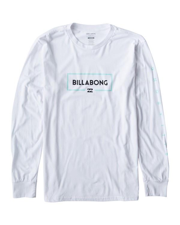 0 Swelled Long Seeve T-Shirt White M405USWE Billabong