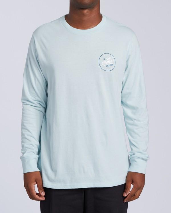 0 Aloha Badge Long Sleeve T-Shirt Brown M405VBAB Billabong