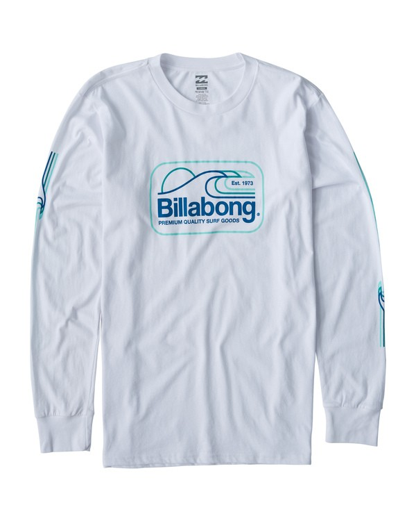 0 Dive Long Sleeve T-Shirt White M405VBDI Billabong