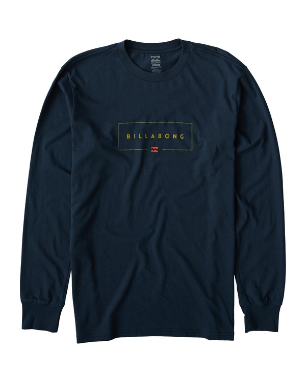 0 Union Long Sleeve T-Shirt Blue M405VBUI Billabong