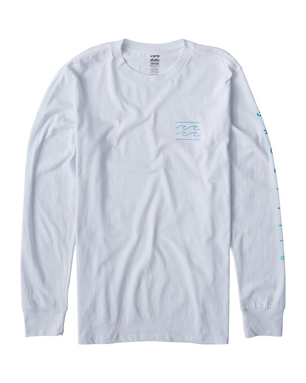 0 Unity Long Sleeve T-Shirt White M405VBUN Billabong