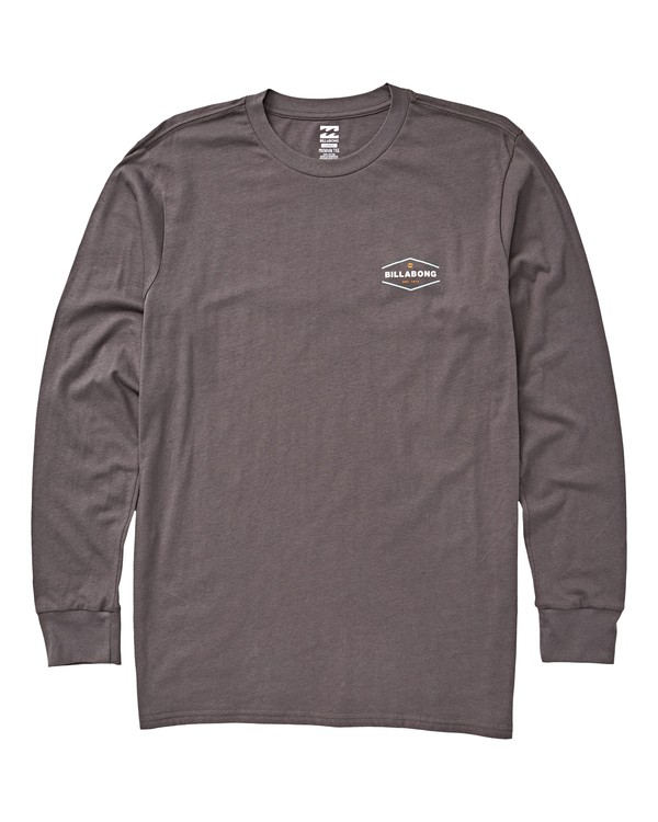 0 Vista Long Sleeve T-Shirt Grey M405VBVI Billabong
