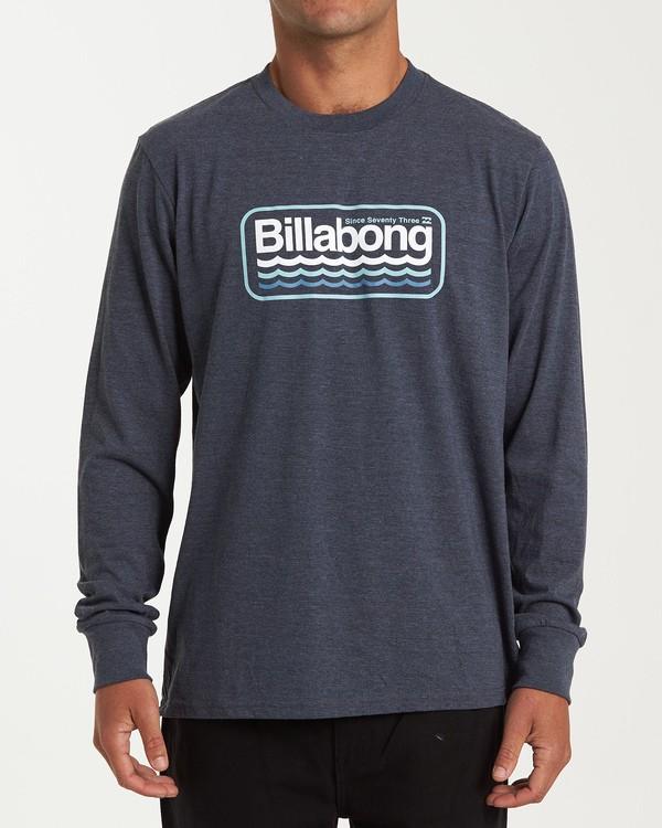 0 Ripple Long Sleeve T-Shirt Blue M405WBRI Billabong