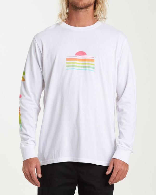 0 Power Down Long Sleeve T-Shirt White M405WBSU Billabong