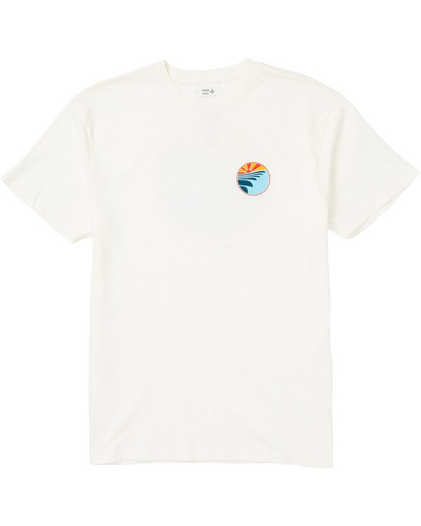0 Corduroy Eco-Friendly Graphic T-Shirt White M406SBCO Billabong