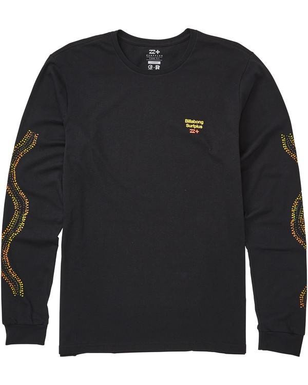 0 Barra Long Sleeve Tee Black M408QBBA Billabong