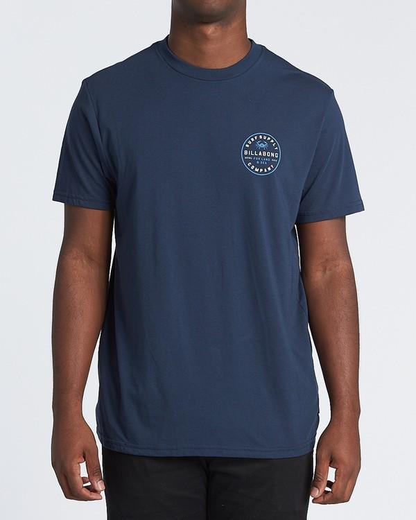 0 Claws Short Sleeve T-Shirt Blue M4141BCL Billabong