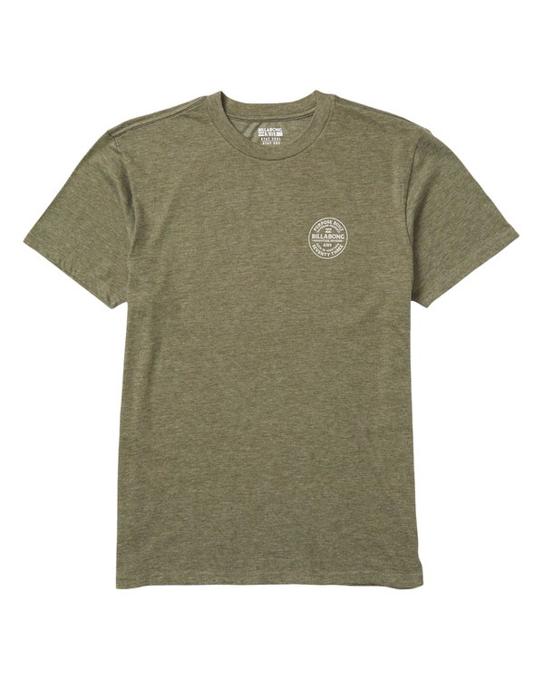 0 Emblem Performance T-Shirt Green M414SBEM Billabong