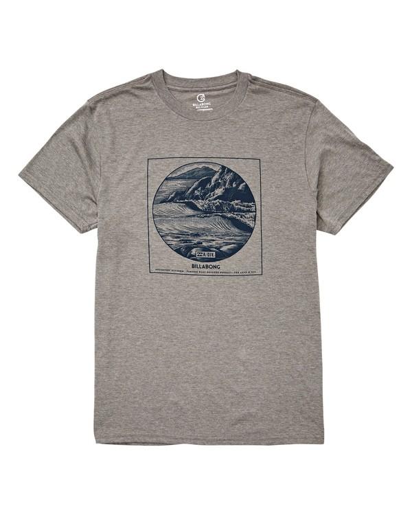 0 La Punta T-Shirt Grey M414UBLP Billabong
