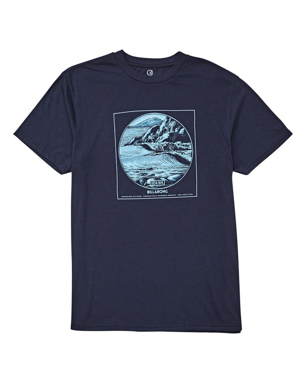 0 La Punta T-Shirt Blue M414UBLP Billabong