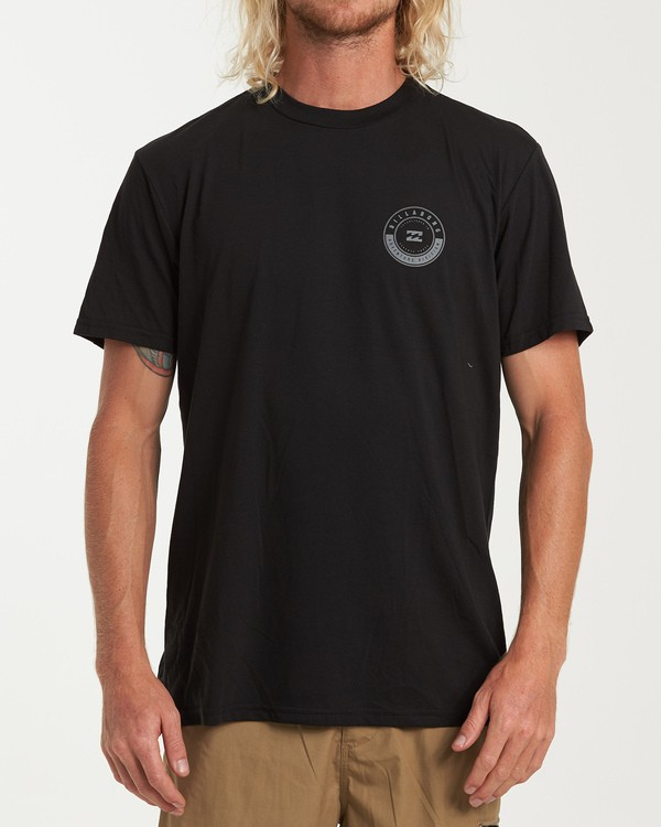 0 Rotor Short Sleeve T-Shirt Black M414WBRR Billabong