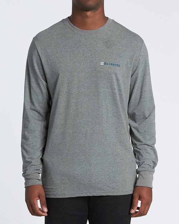 0 Assault Long Sleeve T-Shirt Grey M4151BAS Billabong