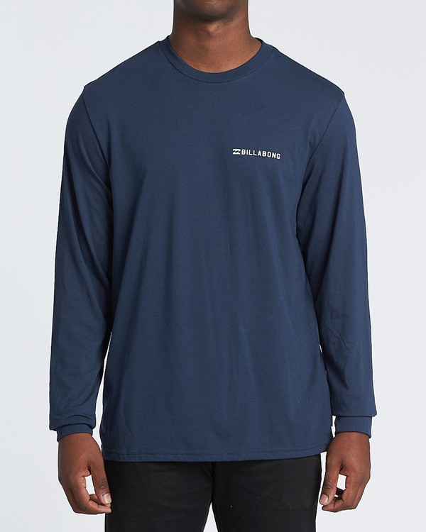 0 Assault Long Sleeve T-Shirt Blue M4151BAS Billabong