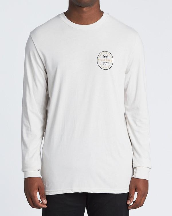 0 Claws Long Sleeve T-Shirt Brown M4151BCL Billabong