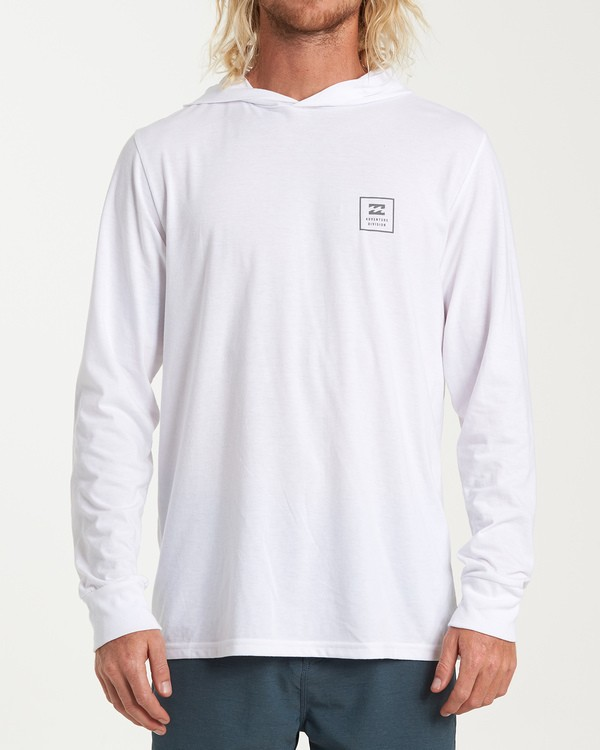 0 Stacked Long Sleeve T-Shirt White M416WBSD Billabong