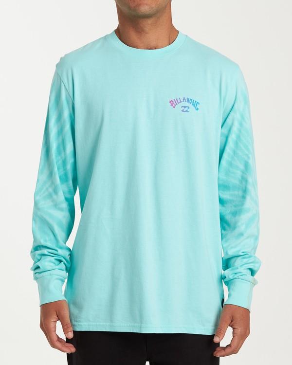 0 Arch Tie-Dye Long Sleeve T-Shirt Blue M426WBAT Billabong