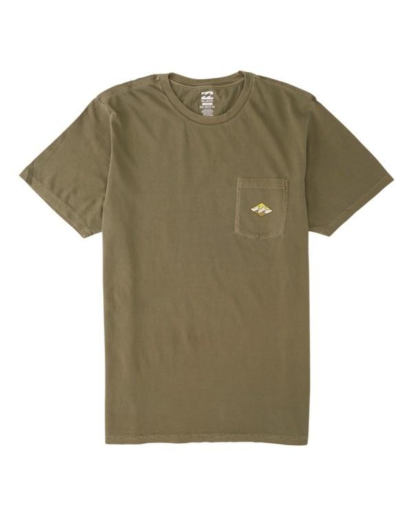 0 Chill Short Sleeve T-Shirt Green M4281BCS Billabong