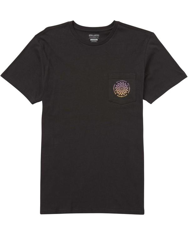 0 Psychadels T-Shirt  M431QBPS Billabong