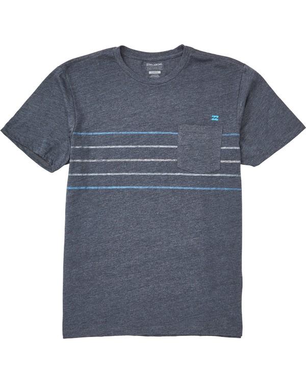 0 Stripe T-Shirt  M431QBST Billabong